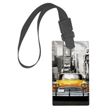 I LOVE NYC - New York Taxi Luggage Tag
