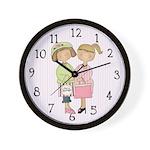 Shopping Friends Clock