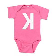 Letter K Baby Bodysuit