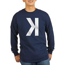 Letter K Long Sleeve T-Shirt