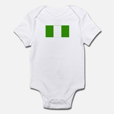 nigeria flag Infant Bodysuit