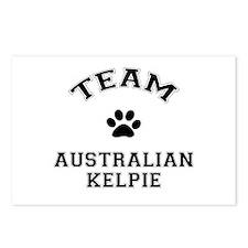 Team Australian Kelpie Postcards (Package of 8)