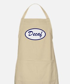 Decaf Name Patch Decaffeinated BBQ Apron