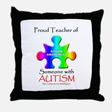 Proud Teacher Throw Pillow