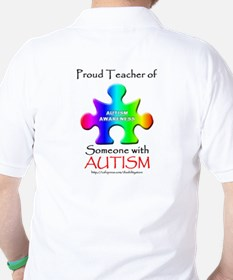 Proud Teacher (backprint) T-Shirt