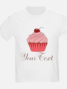 Personalizable Pink Cupcake T-Shirt