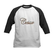 Gold Cesar Baseball Jersey