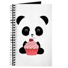 Panda Bear Cupcake Journal