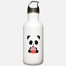 Panda Bear Cupcake Water Bottle