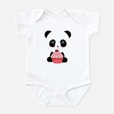 Panda Bear Cupcake Body Suit