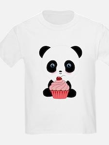 Panda Bear Cupcake T-Shirt
