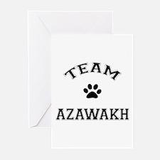 Team Azawakh Greeting Cards (Pk of 10)