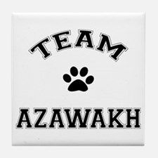 Team Azawakh Tile Coaster