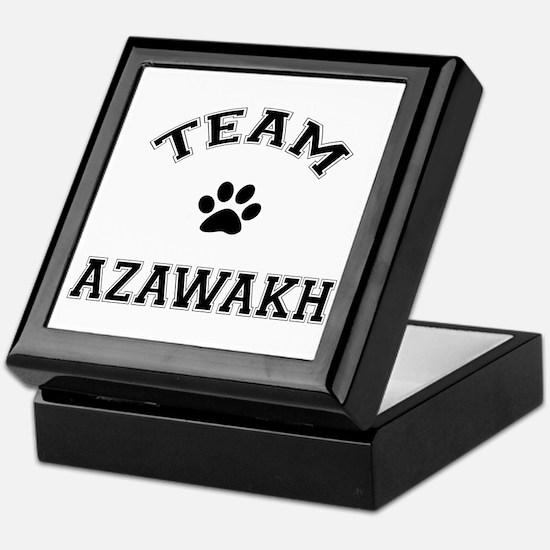 Team Azawakh Keepsake Box