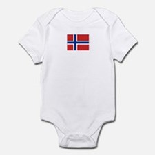 norway flag Infant Bodysuit