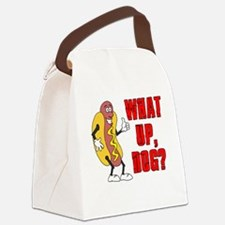 What Up, Dog? Canvas Lunch Bag