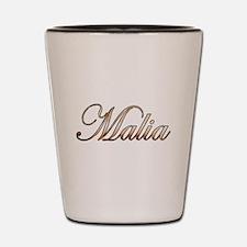 Gold Malia Shot Glass