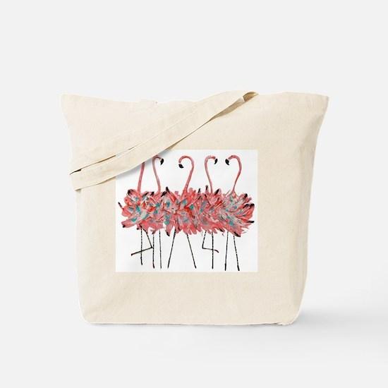 Funny Flamingo Tote Bag