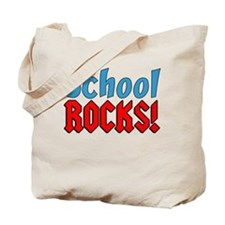 School Rocks Tote Bag