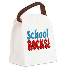 School Rocks Canvas Lunch Bag