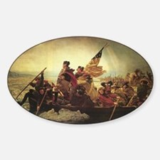 Washington Crossing The Delaware Decal