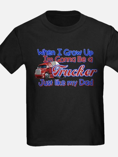 When I Grow Up Trucker T-Shirt