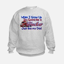 When I Grow Up Trucker Sweatshirt