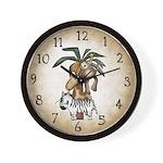 Monkey & Friends Clock