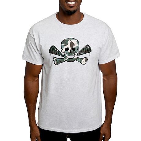 Lacrosse Skull Camo Light T-Shirt