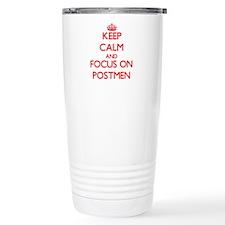 Unique Courier Travel Mug