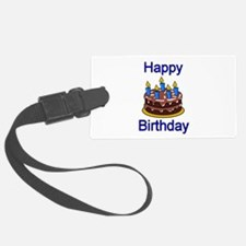 Happy Birthday Luggage Tag
