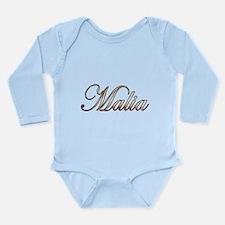 Gold Malia Body Suit