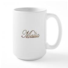 Gold Malia Mugs