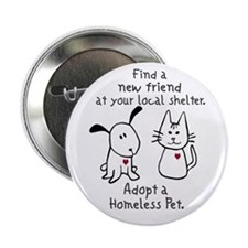 """Find a New Friend 2.25"""" Button (10 pack)"""