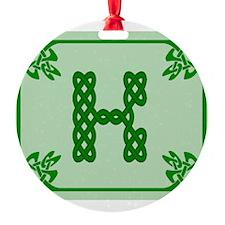 Cute Celtic k Ornament