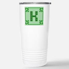 Cute Celtic k Travel Mug