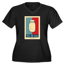 yeswecanLG Plus Size T-Shirt