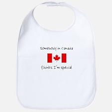 Somebody in Canada Bib