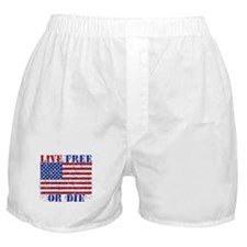 Cute Live free or die Boxer Shorts