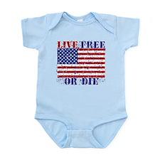 LIVE FREE OR DIE Body Suit