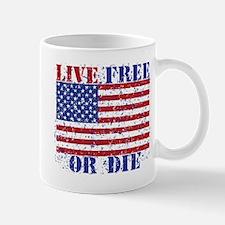 LIVE FREE OR DIE Mugs