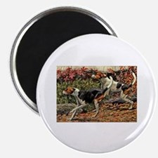 American Foxhound Art Magnet