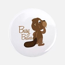 """Busy Beaver 3.5"""" Button (100 pack)"""