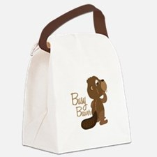 Busy Beaver Canvas Lunch Bag