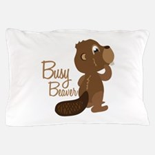 Busy Beaver Pillow Case