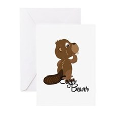 Eager Beaver Greeting Cards