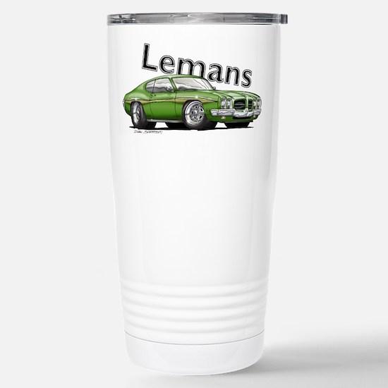 Green Pontiac Lemans Mugs
