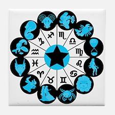 Zodiac Signs Tile Coaster
