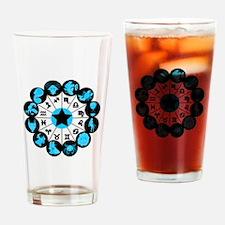 Zodiac Signs Drinking Glass