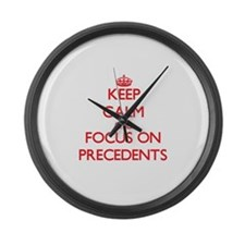 Precede Large Wall Clock